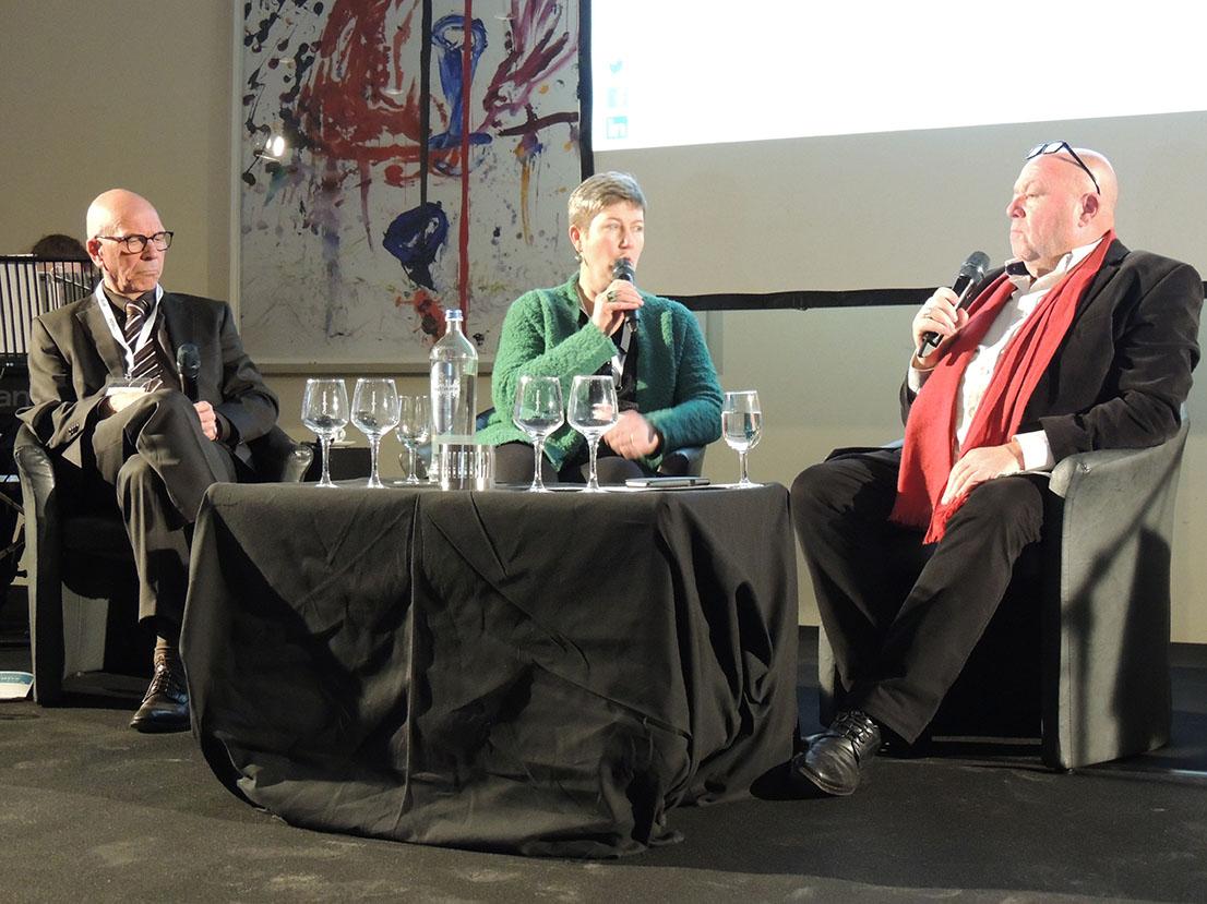 Medewerkers en organisatie in tijden van besparingen: Walter Rombouts (Perspectief) - An Schoors (Broeder Ebergiste) - Ronny Dierendonck (moderator)